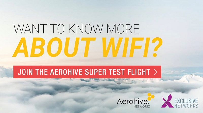 Register For Aerohive Super Test Flight | Your Exclusive