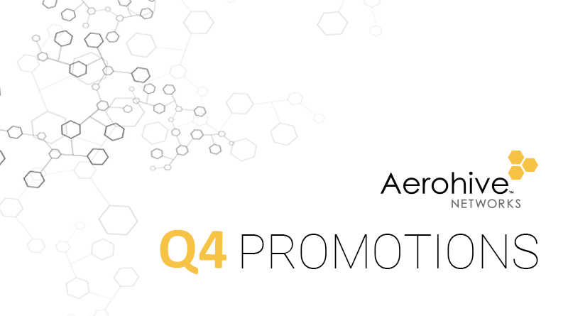 Aerohive Promotions