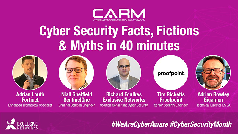 Cyber Security Facts, Fictions & Myths Recording | Your Exclusive