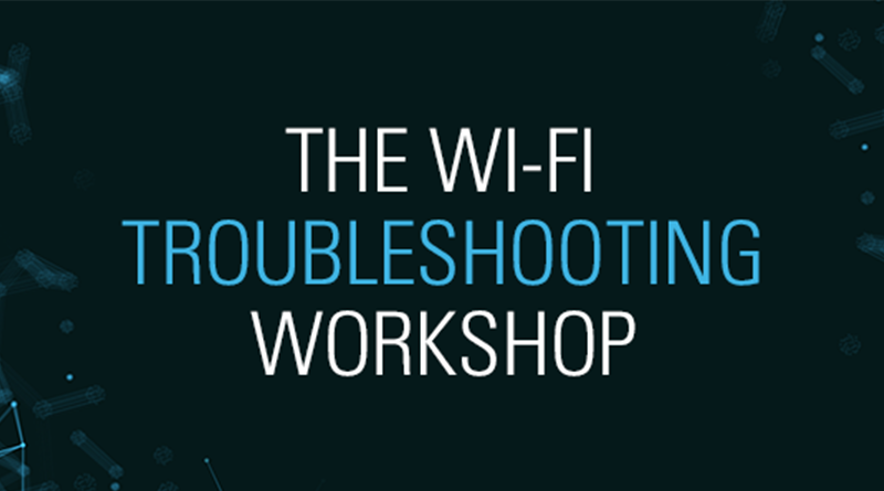 7 June, 12:00 CET – Aerohive Wi-Fi Troubleshooting Workshop