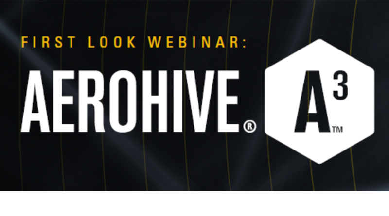 Aerohive – 6 June, 16:00 CET –  Aerohive A3 Webinar: Learn about Secure Access Management, get a free trial