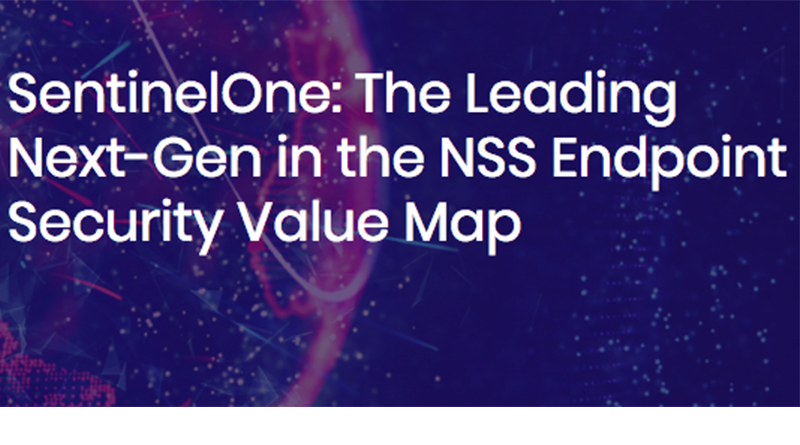 SentinelOne – 24 May, 16:00 CET – NSS Labs' AEP 2.0 Group Test Webinar