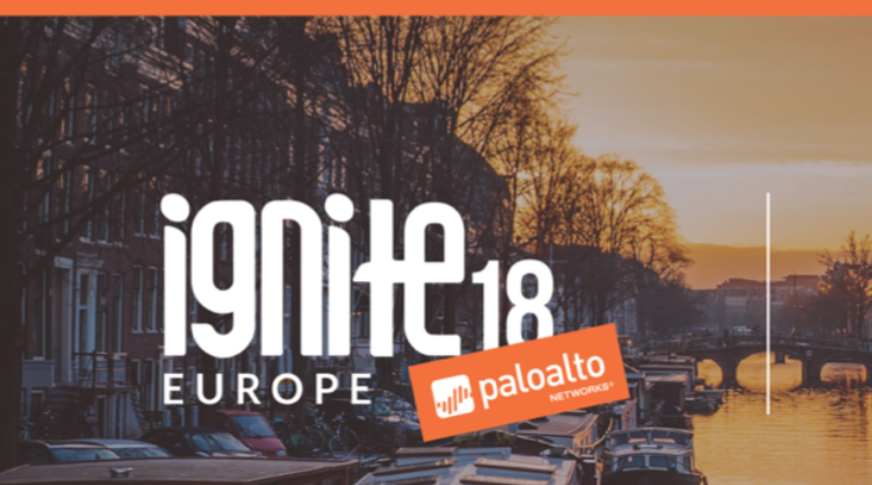 Palo Alto – Ignite Europe – 8-10 October