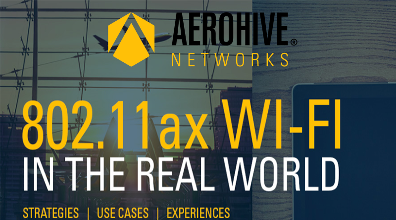Aerohive – October 11, 12:00 CET – Next gen Wi-Fi is here: What's your strategy?