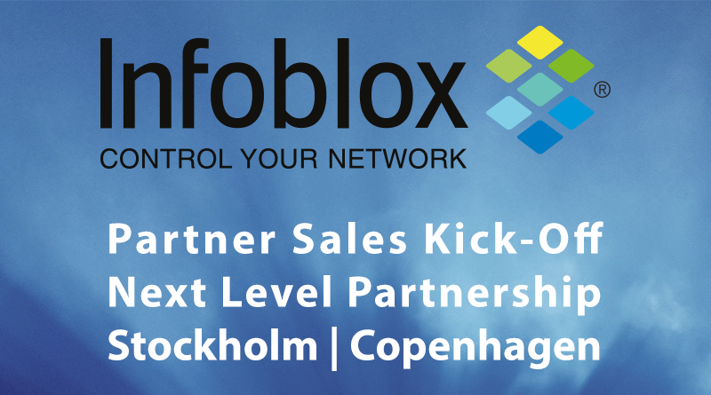 Infoblox – Partner Sales Kick-Off Next Level Partnership