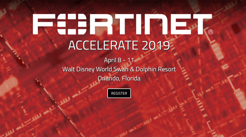 Fortinet – 8-11 April – Accelerate 2019