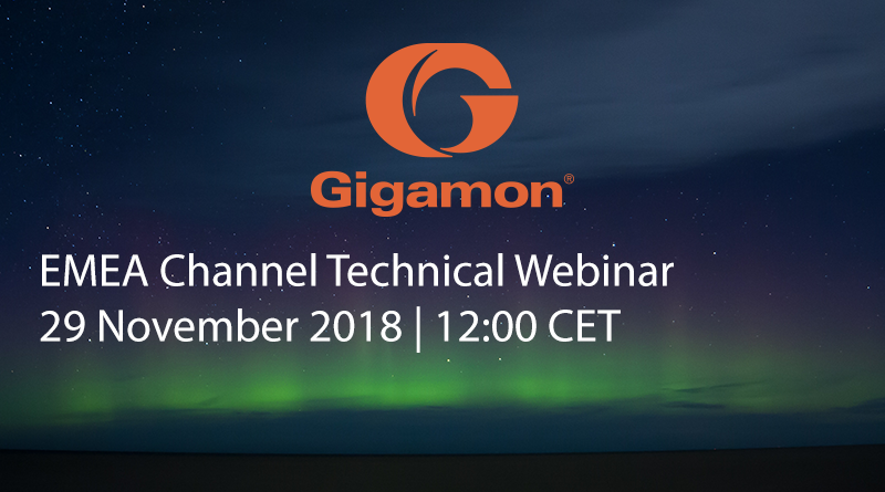 Gigamon – 29 November, 12:00 CET – Gigamon Application Visibility